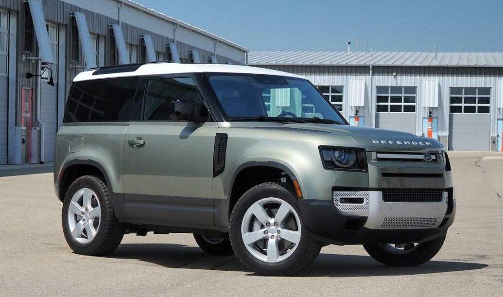 Land Rover Defender 90 2021 : un modèle de luxe très pratique.