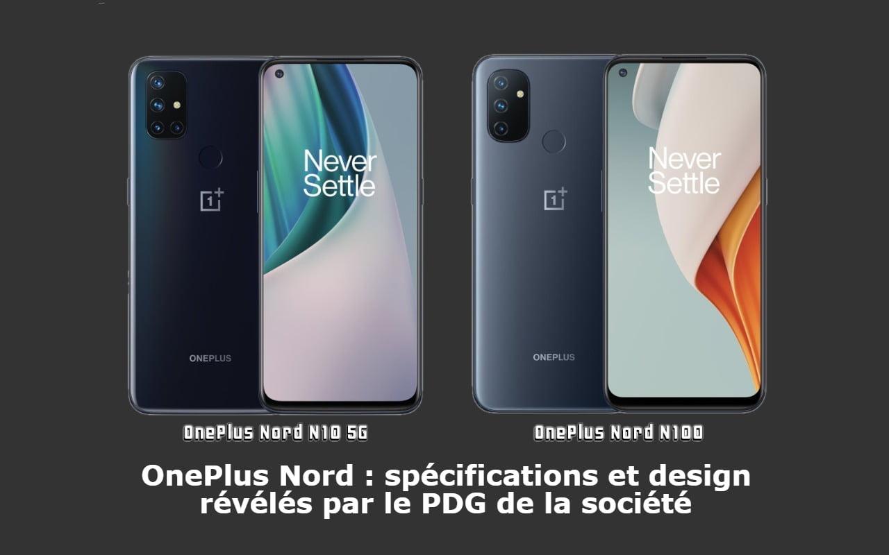 OnePlus Nord : spécifications et design révélés par le PDG de la société