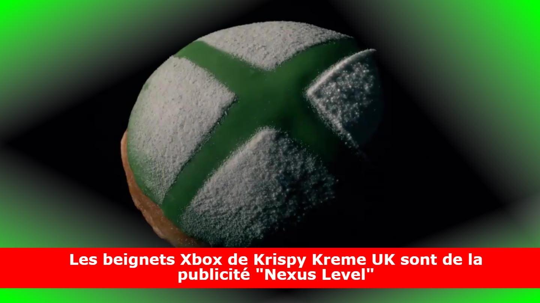 Les beignets Xbox de Krispy Kreme UK sont de la publicité