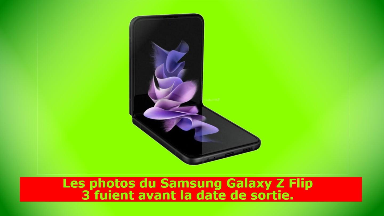 Les photos du Samsung Galaxy Z Flip 3 fuient avant la date de sortie.