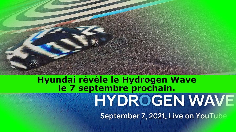 Hyundai révèle le Hydrogen Wave le 7 septembre prochain.