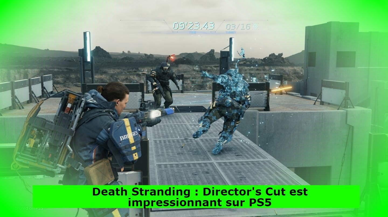 Death Stranding : Director's Cut est impressionnant sur PS5