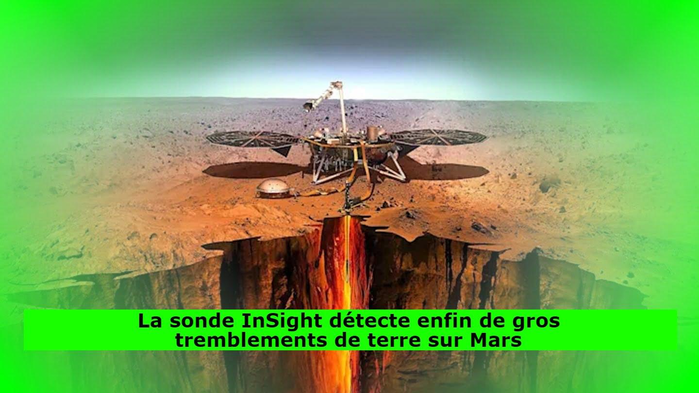 La sonde InSight détecte enfin de gros tremblements de terre sur Mars
