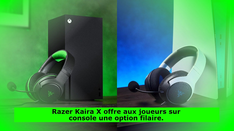 Razer Kaira X offre aux joueurs sur console une option filaire.