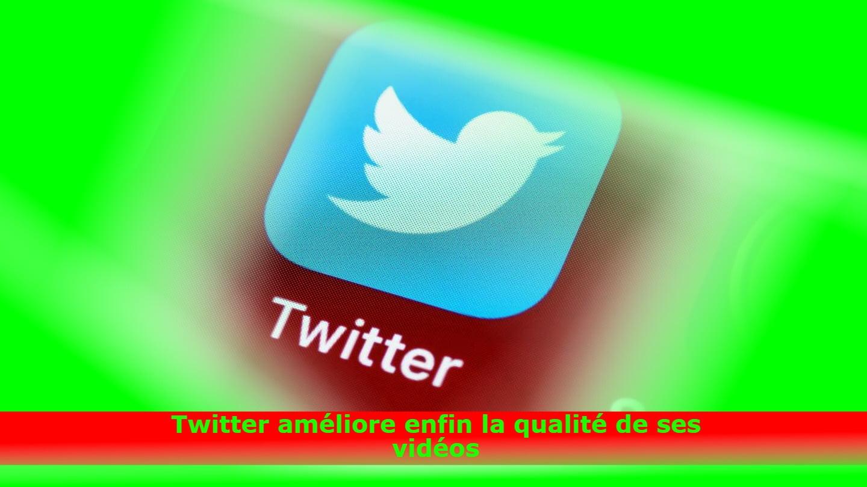 Twitter améliore enfin la qualité de ses vidéos