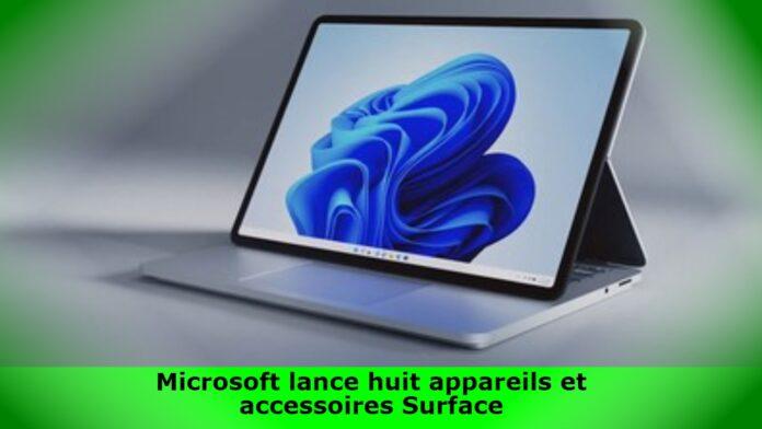 Microsoft lance huit appareils et accessoires Surface