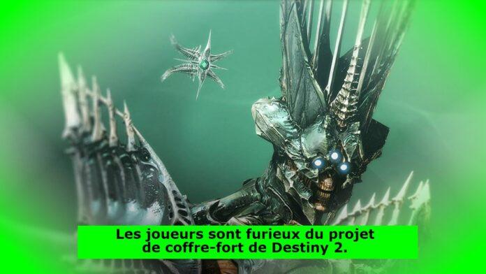 Les joueurs sont furieux du projet de coffre-fort de Destiny 2.