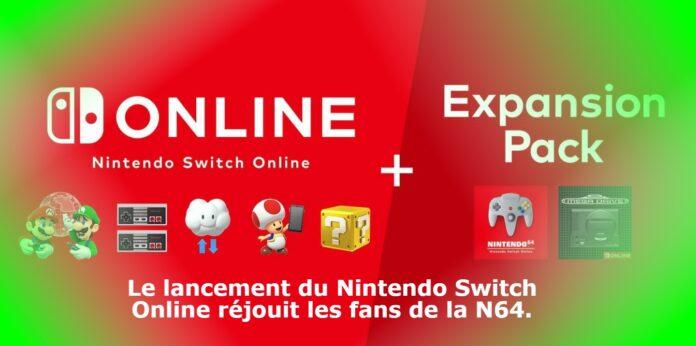 Le lancement du Nintendo Switch Online réjouit les fans de la N64.
